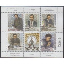 Serbia - 2020 - Nb 939/943 - Chess