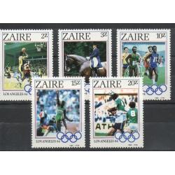 Zaïre - 1984- No 1169/1173 - Jeux olympiques d'été