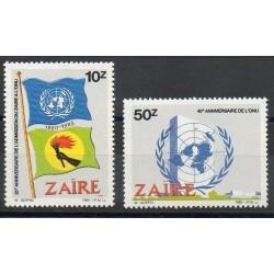 Zaïre - 1985 - No 1216/1217