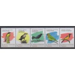 Pays-Bas caribéens - Bonaire - 2020 - No 158/162 - Oiseaux
