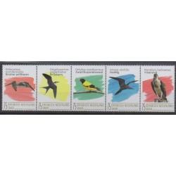 Pays-Bas caribéens - Saba - 2020 - No 113/117 - Oiseaux