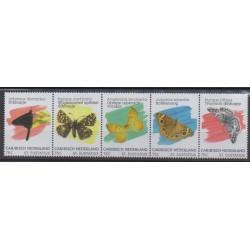 Pays-Bas caribéens - Saint-Eustache - 2020 - No 125/129 - Insectes