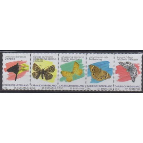 Caribbean Netherlands - Statia - 2020 - Nb 125/129 - Insects