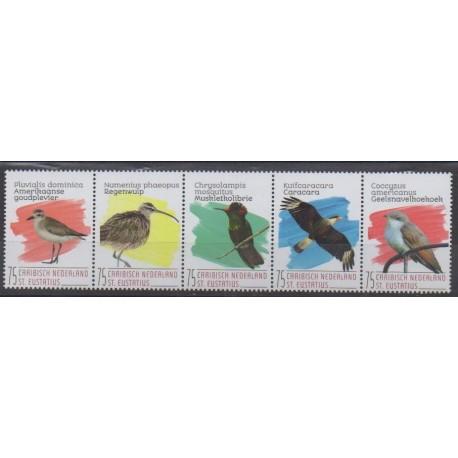 Caribbean Netherlands - Statia - 2020 - Nb 130/134 - Birds