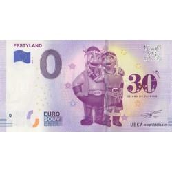 Euro banknote memory - 14 - Festyland - 2019-3