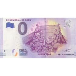 Euro banknote memory - 14 - Le Mémorial de Caen - 2019-4