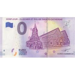 Euro banknote memory - 14 - Honfleur - Clocher Et Église Sainte-Catherine - 2019-1