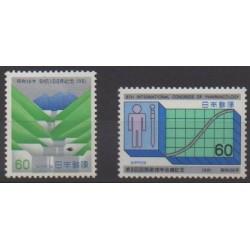 Japon - 1981 - No 1373/1374 - Santé ou Croix-Rouge