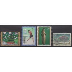 Japon - 1982 - No 1425/1428