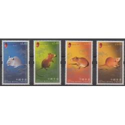 Hong Kong - 2008 - Nb 1375/1378 - Horoscope
