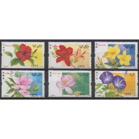 Hong Kong - 2008 - Nb 1379/1384 - Flowers