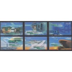 Hong Kong - 1998 - Nb 860/865 - Planes