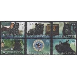 Micronesia - 1998 - Nb 581/586 - Dogs
