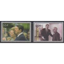 Micronesia - 2005 - Nb 1378/1379 - Celebrities