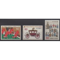 Japan - 1976 - Nb 1203/1205