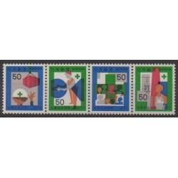 Japon - 1977 - No 1227/1230