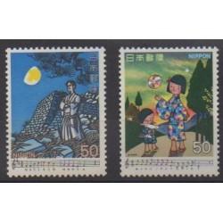 Japan - 1979 - Nb 1303/1304 - Music