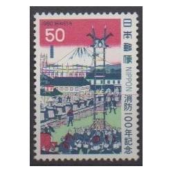 Japan - 1980 - Nb 1331 - Firemen