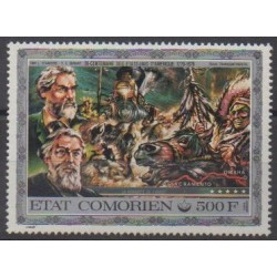 Comoros - 1976 - Nb PA99 - Various Historics Themes