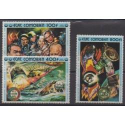 Comoros - 1976 - Nb PA95/PA97 - Space