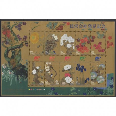 Japan - 2007 - Nb 4214/4223 - Flowers