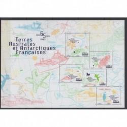 French Southern and Antarctic Lands - Blocks and sheets - 2020 - Nb F953 - Various Historics Themes