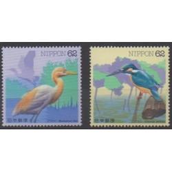 Japan - 1993 - Nb 2022/2023 - Birds