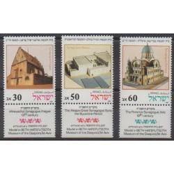 Israel - 1987 - Nb 1013/1015 - Religion