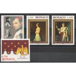 Monaco - 2004- Nb 2442/2445 - Napoléon