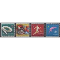Japan - 1958 - Nb 603/606 - Various sports