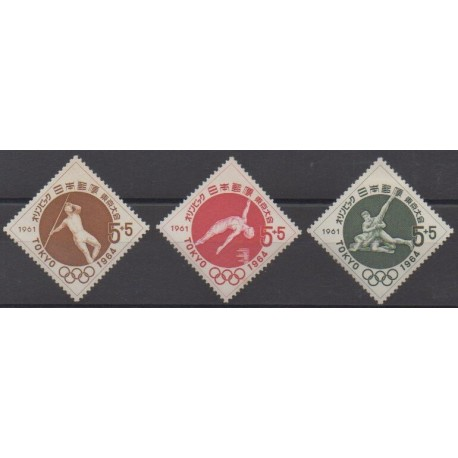 Japan - 1961 - Nb 689/691 - Various sports - Mint hinged