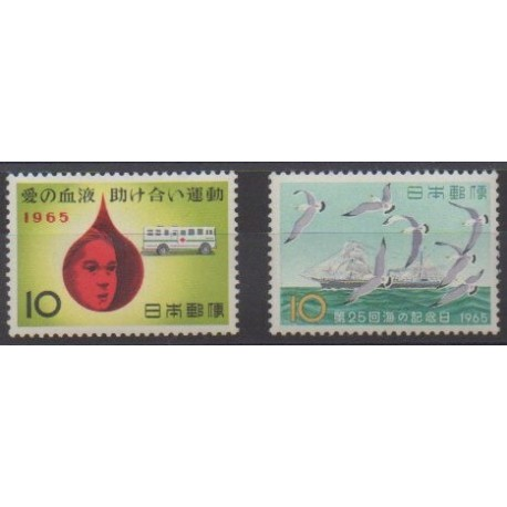 Japan - 1965 - Nb 808/809
