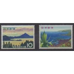 Japan - 1964 - Nb 766/767 - Sights