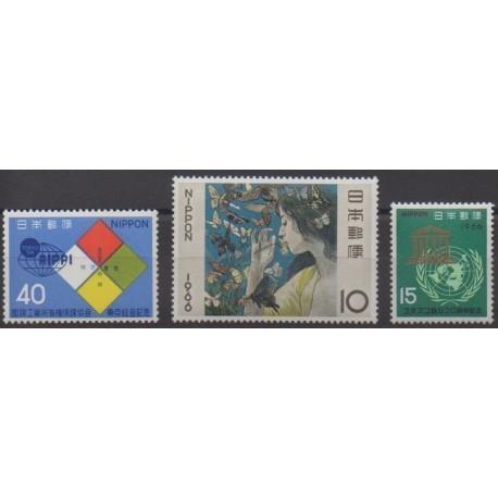 Japan - 1966 - Nb 834/836