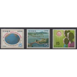 Japan - 1966 - Nb 848/850