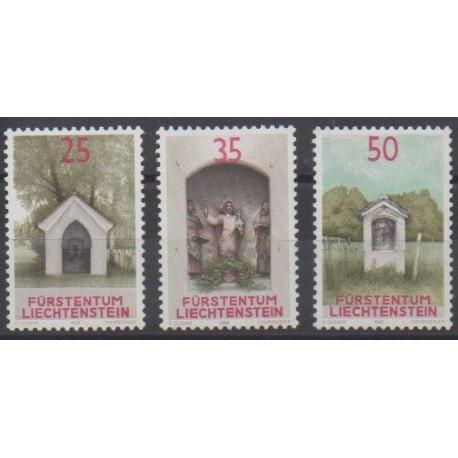 Lienchtentein - 1988 - Nb 892/894 - Religion
