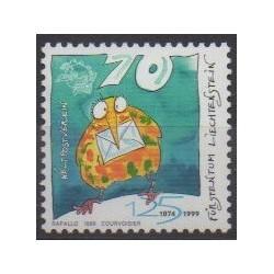 Lienchtentein - 1999 - Nb 1142 - Postal Service