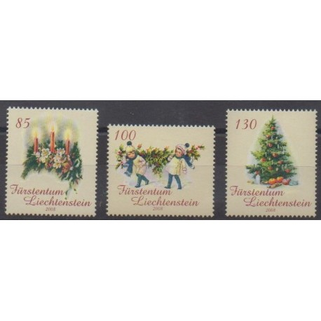 Lienchtentein - 2008 - Nb 1443/1445 - Christmas