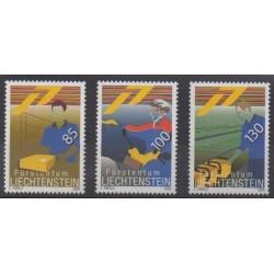 Lienchtentein - 2009 - Nb 1447/1449 - Postal Service