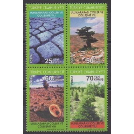 Turkey - 2006 - Nb 3239/3242 - Environment