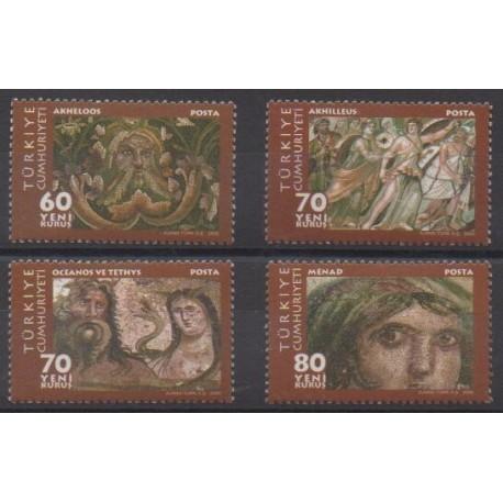 Turkey - 2005 - Nb 3179/3182 - Paintings