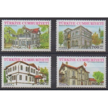 Turkey - 2004 - Nb 3135/3138 - Architecture