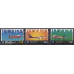 Jamaica - 1999 - Nb 945/947 - Planes