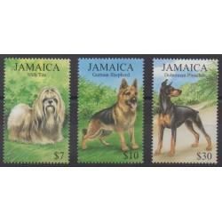 Jamaïque - 1999 - No 948/950 - Chiens