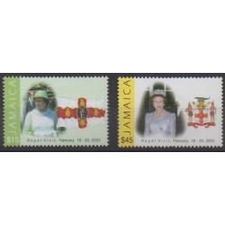 Jamaïque - 2002 - No 996/997 - Royauté - Principauté