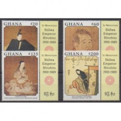 Ghana - 1989 - Nb 1011/1014 - Various Historics Themes - Paintings