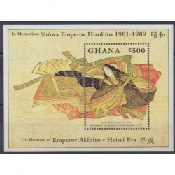Ghana - 1989 - Nb BF139 - Various Historics Themes - Paintings