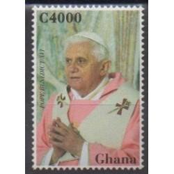 Ghana - 2007 - Nb 3261 - Pope