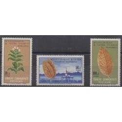 Turkey - 1965 - Nb 1738/1740 - Flora