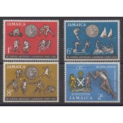 Jamaica - 1962 - Nb 204/207 - Various sports